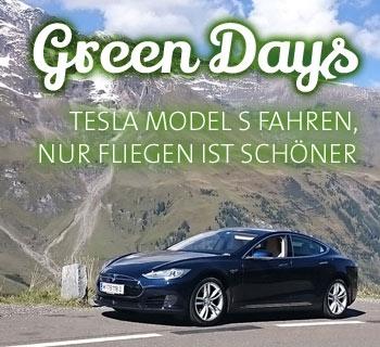 Tesla Fahren im Panoramahotel Wagner